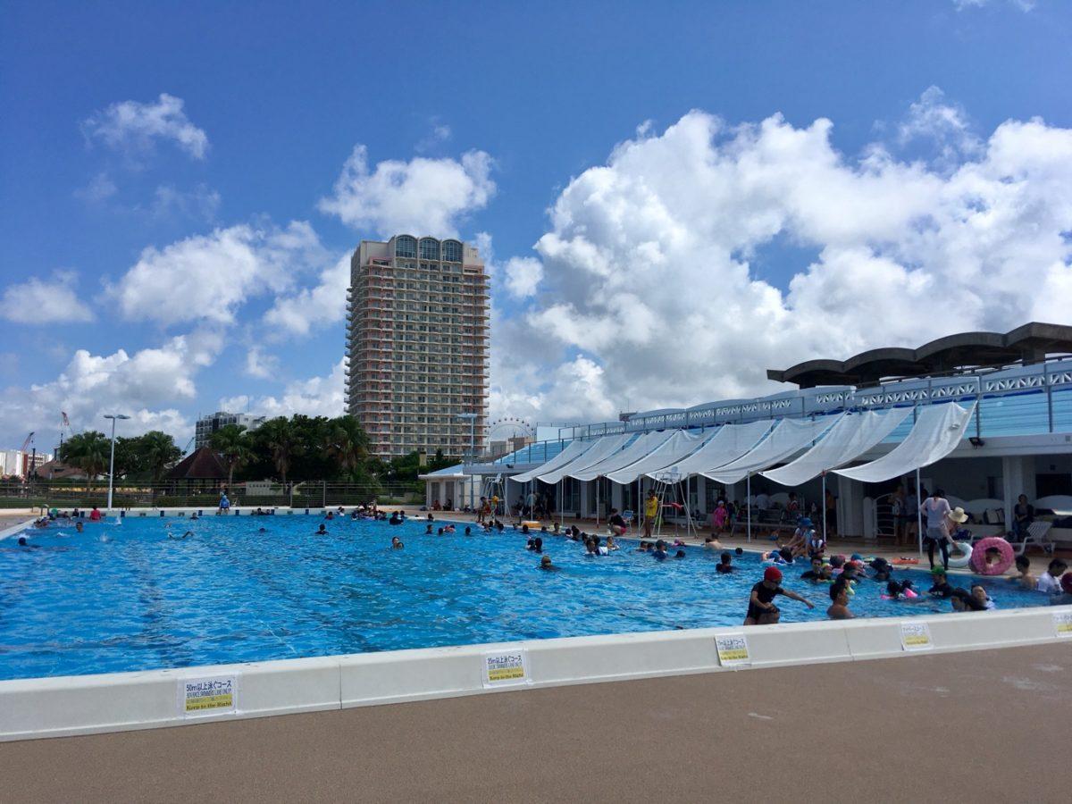 北谷公園水泳プール・50mプール